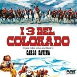I Tre Del Colorado Soundtrack  (Carlo Savina) - CD cover