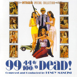 99 and 44/100% Dead 声带 (Henry Mancini) - CD封面