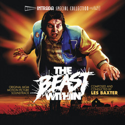 The Beast Within Soundtrack (Les Baxter) - CD cover