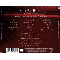 Mi Vida Sin Me Soundtrack (Alfonso de Vilallonga) - CD Back cover
