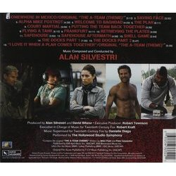 The A-Team Soundtrack (Alan Silvestri) - CD Trasero