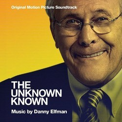 The Unknown Known Soundtrack (Danny Elfman) - CD cover
