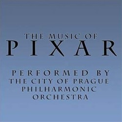 The Music of Pixar 声带 (Michael Giacchino, Randy Newman, Thomas Newman) - CD封面