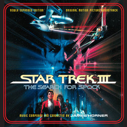 Star Trek III: The Search for Spock Soundtrack (James Horner) - Carátula