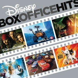Disney Box Office Hits Soundtrack (Various Artists, Michael Giacchino, Hans Zimmer) - CD cover