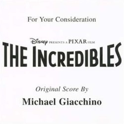 The Incredibles Soundtrack (Michael Giacchino) - CD cover