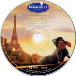 Ratatouille Soundtrack (Michael Giacchino) - CD cover