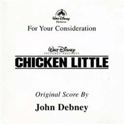 Chicken Little Bande Originale (John Debney) - Pochettes de CD