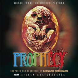 Prophecy Soundtrack (Leonard Rosenman) - CD cover