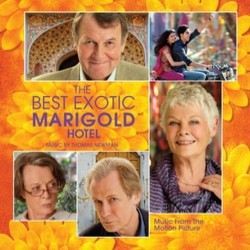 The Best Exotic Marigold Hotel 聲帶 (Thomas Newman) - CD封面