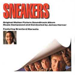 Sneakers Soundtrack (James Horner) - CD cover