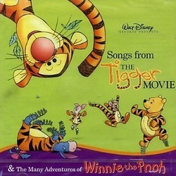 Songs from The Tigger Movie & The Many Adventures of Winnie the Pooh Colonna sonora (Various Artists, Richard M. Sherman, Robert B. Sherman) - Copertina del CD
