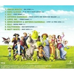 Now That's What I Call Shrek Trilha sonora (Various Artists) - CD capa traseira