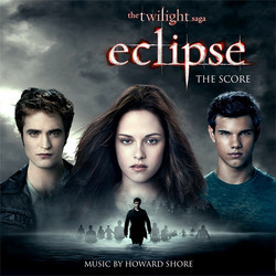 The Twilight Saga: Eclipse Soundtrack (Howard Shore) - CD cover