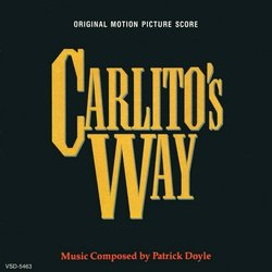 Carlito's Way 声带 (Patrick Doyle) - CD封面