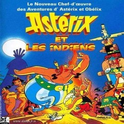 Asterix et les Indiens Trilha sonora (Various Artists, Harold Faltermeyer) - capa de CD