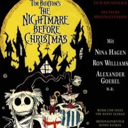 The Nightmare Before Christmas 聲帶 (Various Artists, Danny Elfman) - CD封面