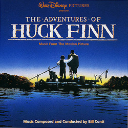 The Adventures of Huck Finn Soundtrack (Bill Conti) - CD-Cover