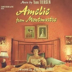 Amelie from Montmartre Soundtrack (Yann Tiersen) - CD-Cover