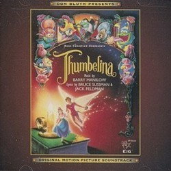 Thumbelina Soundtrack (Various Artists, Jack Feldman, Barry Manilow , Bruce Sussman ) - CD cover