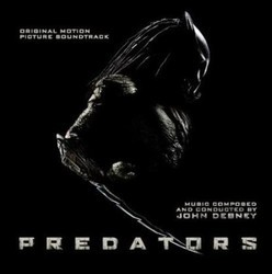 Predators Colonna sonora (John Debney) - Copertina del CD