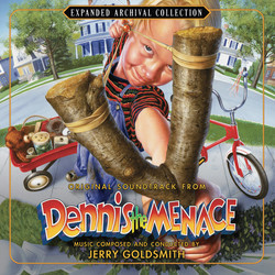 Dennis The Menace 聲帶 (Jerry Goldsmith) - CD封面