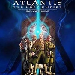 Atlantis: The Lost Empire Trilha sonora (James Newton Howard) - capa de CD