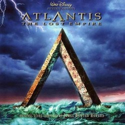 Atlantis: The Lost Empire サウンドトラック (James Newton Howard) - CDカバー