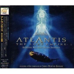 Atlantis: The Lost Empire Soundtrack (James Newton Howard) - CD cover