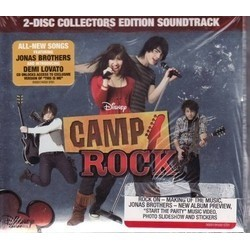 Camp Rock Soundtrack (Various Artists) - CD cover