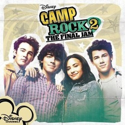 Camp Rock 2: The Final Jam Soundtrack (Various Artists) - CD-Cover