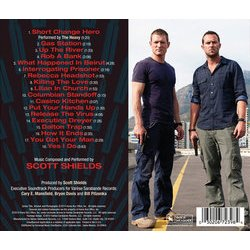 Strike Back Colonna sonora (Scott Shields) - Copertina posteriore CD