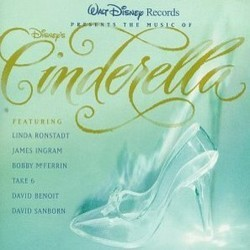 The Music of Disney's Cinderella 声带 (Stanley Andrews, Mack David, Jerry Livingston, Paul J. Smith, Oliver Wallace) - CD封面