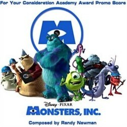 Monsters, Inc. Bande Originale (Randy Newman) - Pochettes de CD