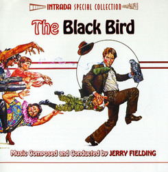 The Black Bird Soundtrack (Jerry Fielding) - CD-Cover