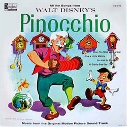 Pinocchio Soundtrack (Leigh Harline, Paul J. Smith) - CD-Cover
