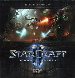 Starcraft 2 Wings of Liberty Soundtrack (Neal Acree, Russell Brower, Derek Duke, Glenn Stafford) - Carátula