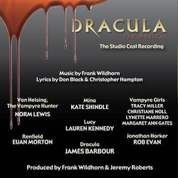 Dracula, The Musical Soundtrack (Don Black, Christopher Hampton, Frank Wildhorn) - CD Trasero