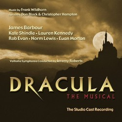 Dracula, The Musical Soundtrack (Don Black, Christopher Hampton, Frank Wildhorn) - Carátula