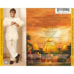 The Road to El Dorado Soundtrack (Elton John, John Powell, Hans Zimmer) - CD Back cover