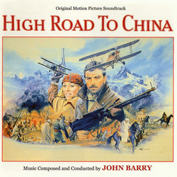 High Road to China Soundtrack (John Barry) - CD cover