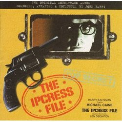 The Ipcress File Soundtrack (John Barry) - CD cover