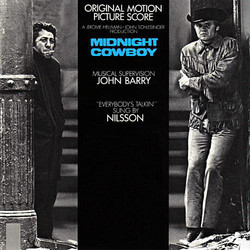 Midnight Cowboy Soundtrack (John Barry) - Carátula