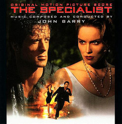The Specialist Soundtrack (John Barry) - CD cover