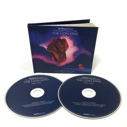 The Lion King Soundtrack (Hans Zimmer) - CD cover