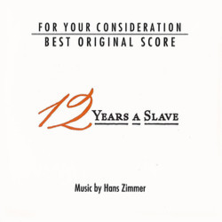 12 Years a Slave Soundtrack (Hans Zimmer) - CD cover