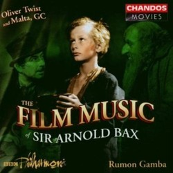 Oliver Twist Soundtrack (Arnold Bax) - CD cover