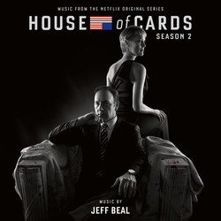 House of Cards: Season 2 Soundtrack (Jeff Beal) - CD cover