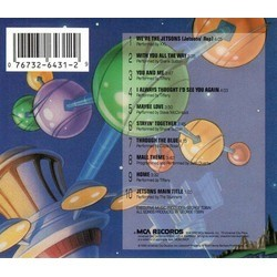 Jetsons: The Movie Soundtrack (Various Artists) - CD Achterzijde