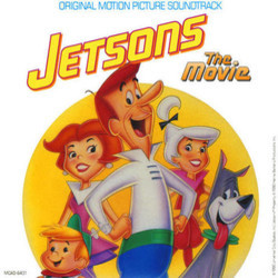 Jetsons: The Movie Soundtrack (Various Artists) - CD cover